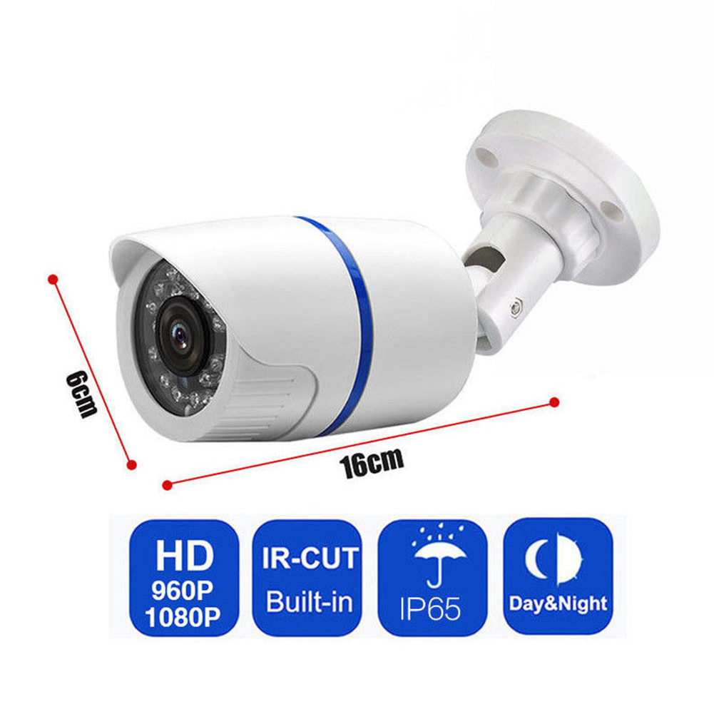 HD 1080P Outdoor IR Video Camera Security System Motion Detector with Night Vision NTSC-6MM