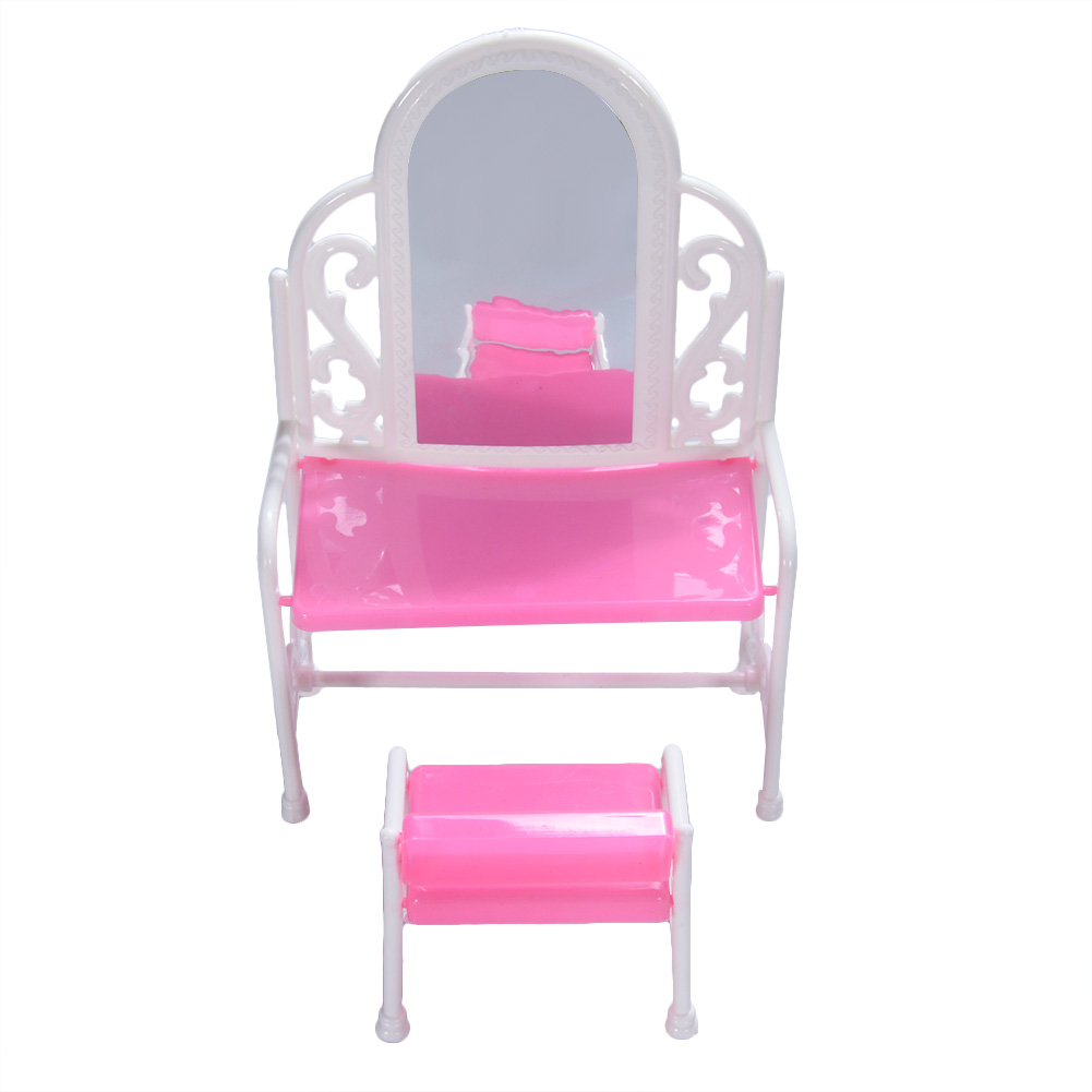 Yiding Fashion Dressing Table And Chair Set For dolls Bedroom Furniture
