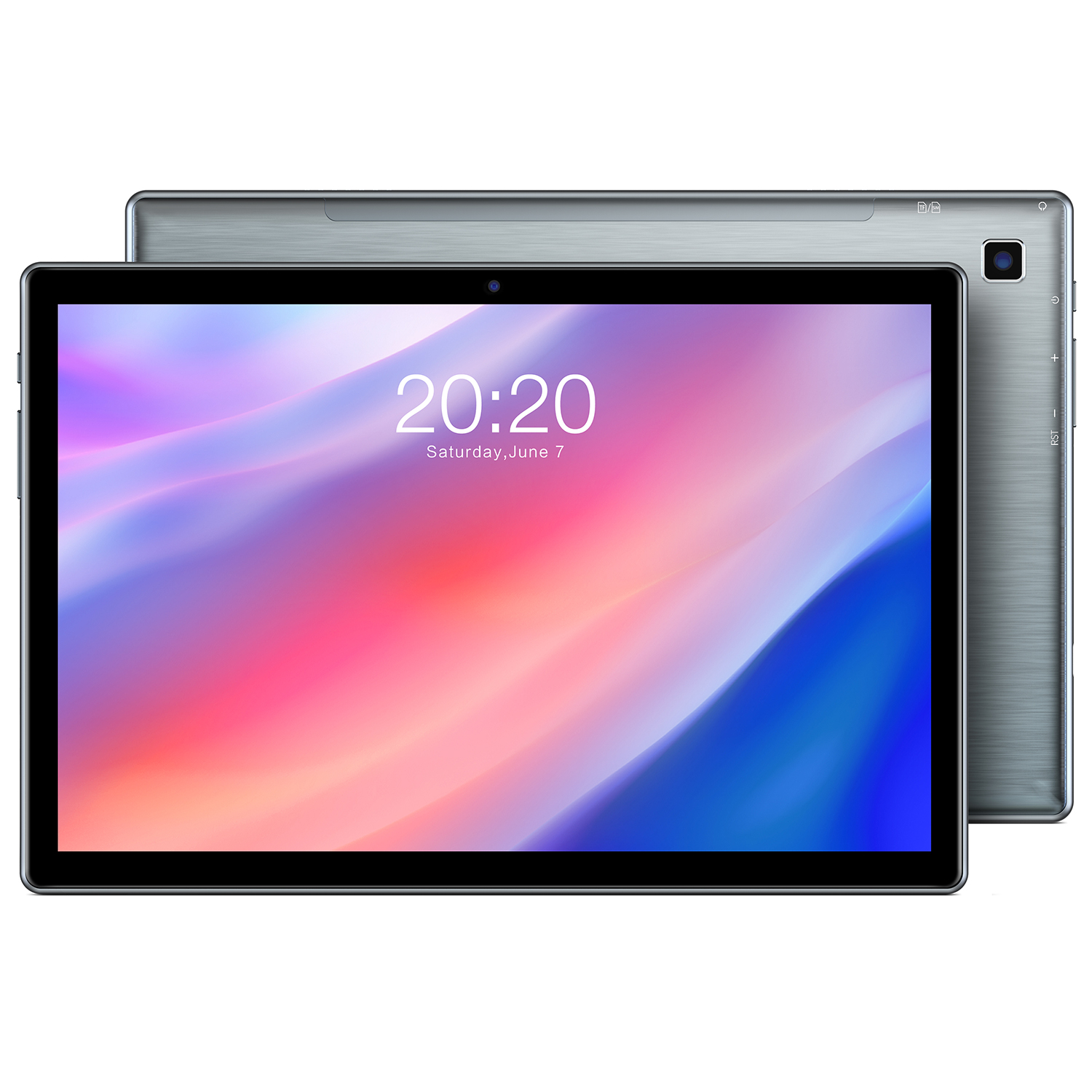 Original TECLAST P20 Tablet 10.1inch High-definition Screen Metal 1920×1200 4GB RAM 64GB ROM Type-C AI-speed-up 6 Android 10.0 Tablet Pc U.S. plug  4+64