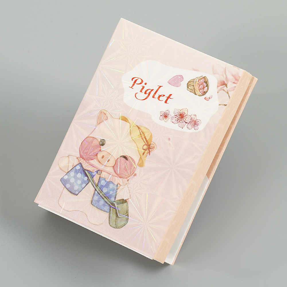Lovely Notebook Notepad Sticker with Cartoon Pattern Stationery for Student