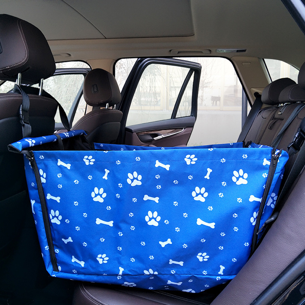 Waterproof Double Layer Pet Vehicle-mounted Cushion Hanging Bag