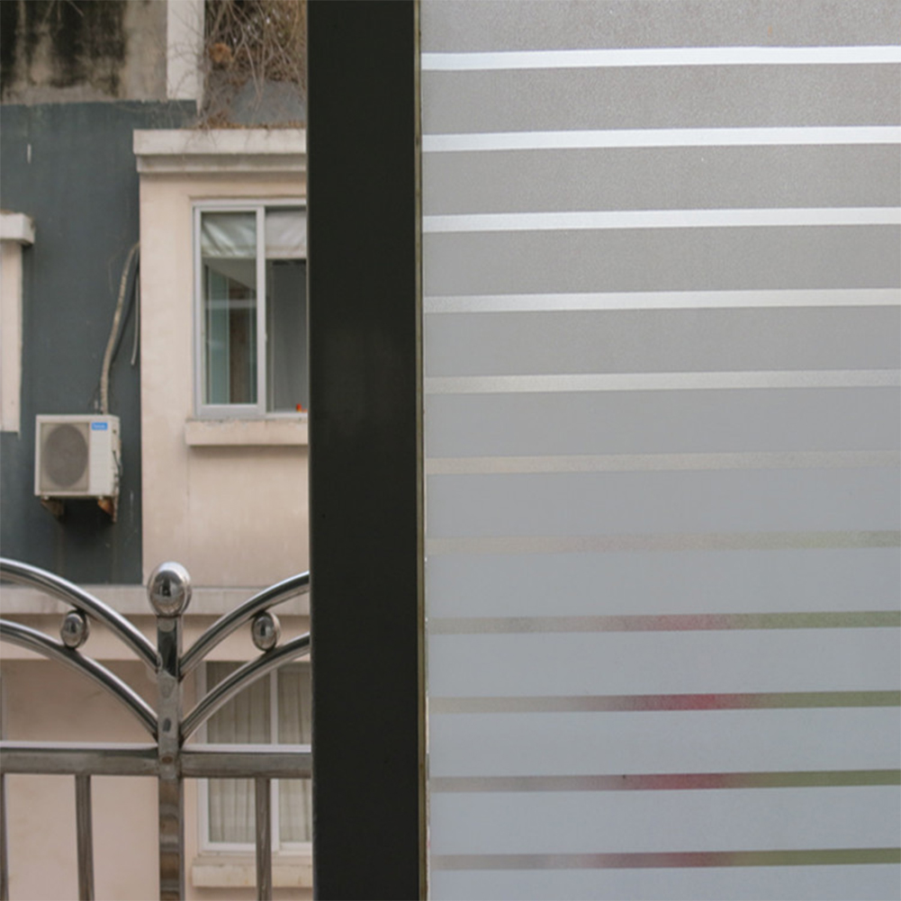 2Mx 45CM PVC Waterproof Frosted Glass Film Sticker for Bathroom Window Home Privacy