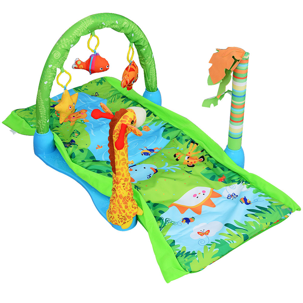 [US Direct] Forest Play Gym Baby Activity Gym and Play Mat