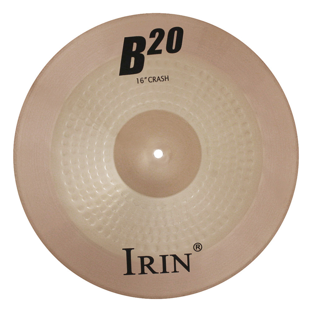16 Inch  B20  Cymbal Professional Bronze Cymbal  for  Drum Set copper_39.8*39.8CM