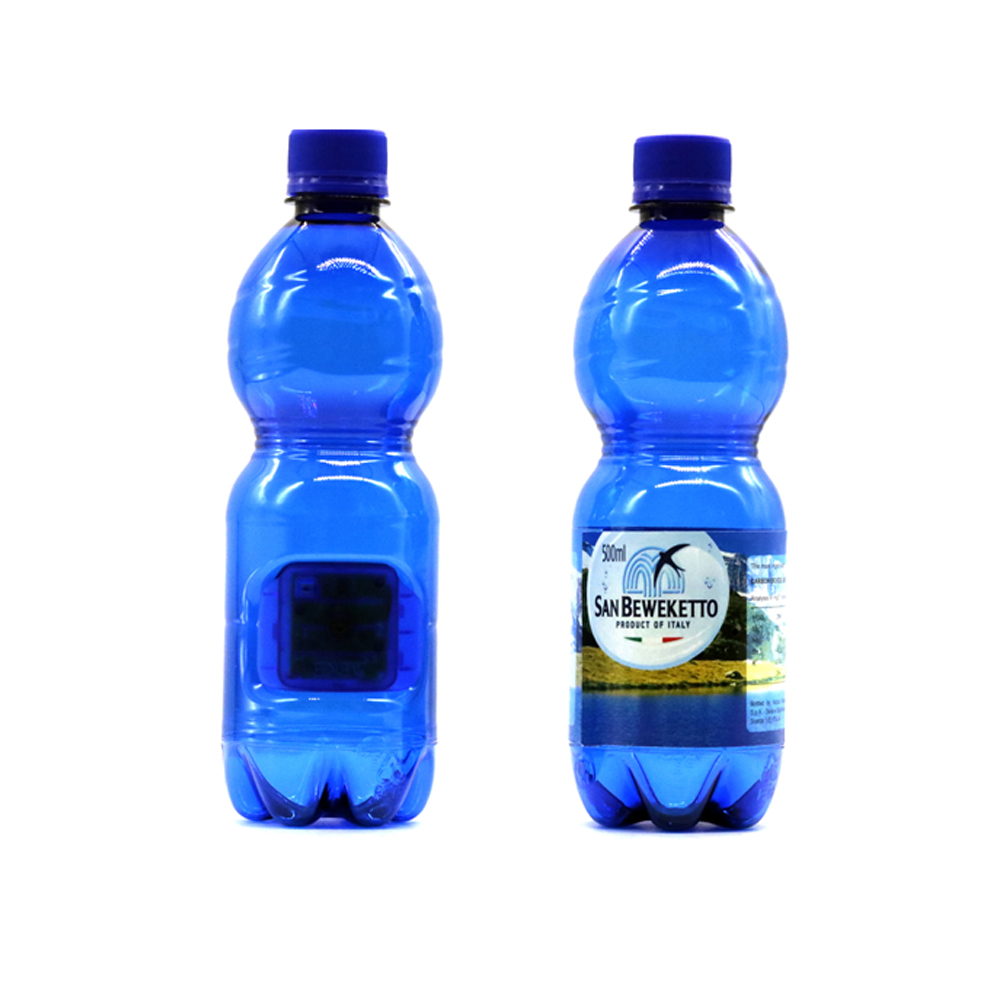 Creative K3 1920*1080P Water Bottle Shaped Hidden Camera without WIFI Function blue_EU Plug