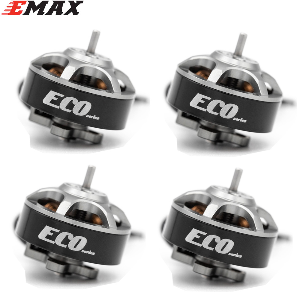 4PCS EMAX ECO 1404 2~4S 3700KV 6000KV CW Brushless Motor For RC Drone FPV Racing Quadcopter Multirotor RC Parts Accessories 6000KV KSX3831X4