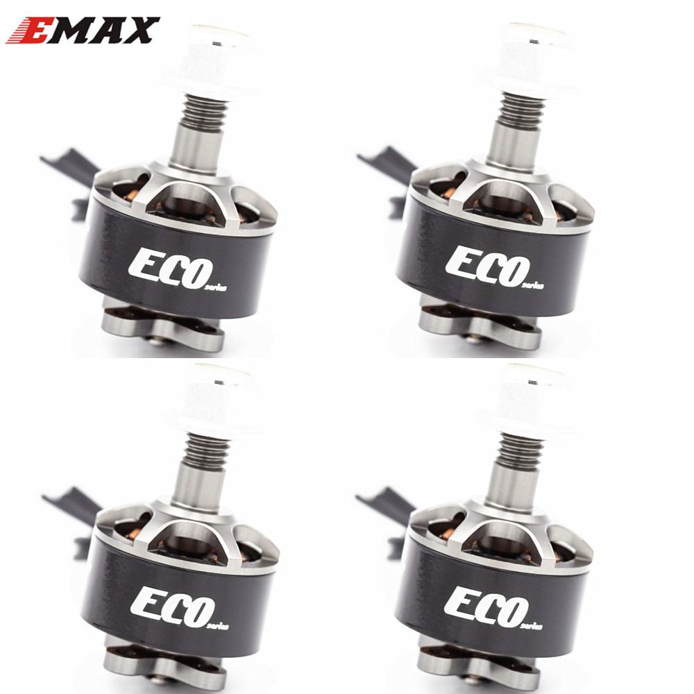 4PCS EMAX ECO Micro Series 1407 2~4S 2800KV 3300KV 4100KV Brushless Motor For FPV Racing RC Drone Quadcopter Parts 2800KV KSX3832X4