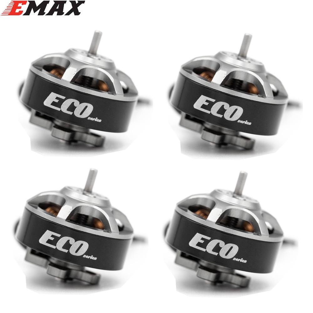 4PCS EMAX ECO 1404 2~4S 3700KV 6000KV CW Brushless Motor For RC Drone FPV Racing Quadcopter Multirotor RC Parts Accessories 3700KV KSX3830X4