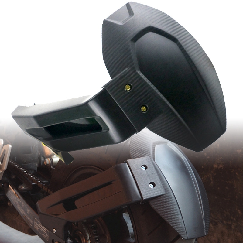 Motorcycle Rear Mudguard Wheel Tire Mud Cover Guard for HONDA MSX125 MSX125SF  black
