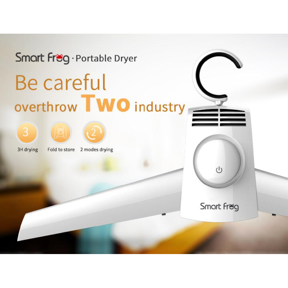 Clothes Dryer Shoe Dryer Quick Drying Home Travel Business Trip Hanger white_U.S. regulations