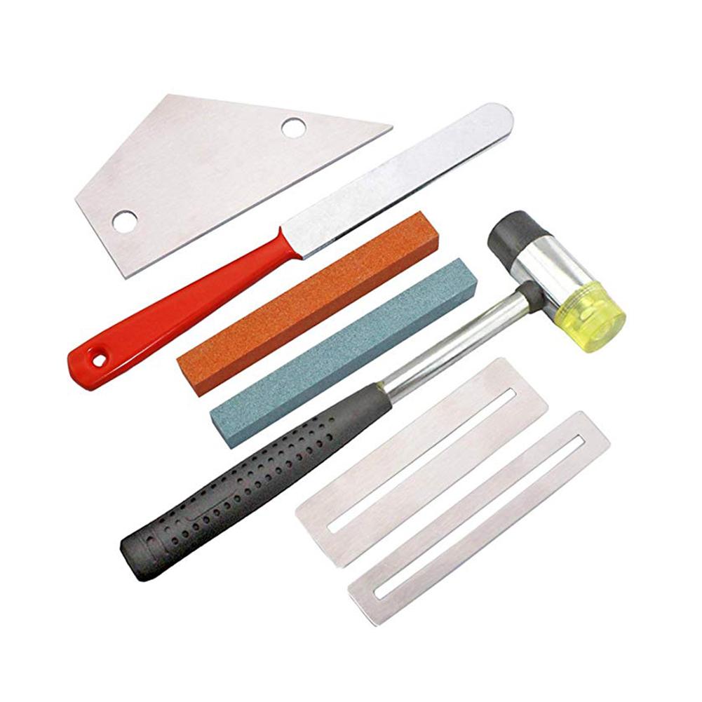 7 Pcs/set Professional Guitar Luthier DIY Tool Kit  Guitar tool set of 7pcs