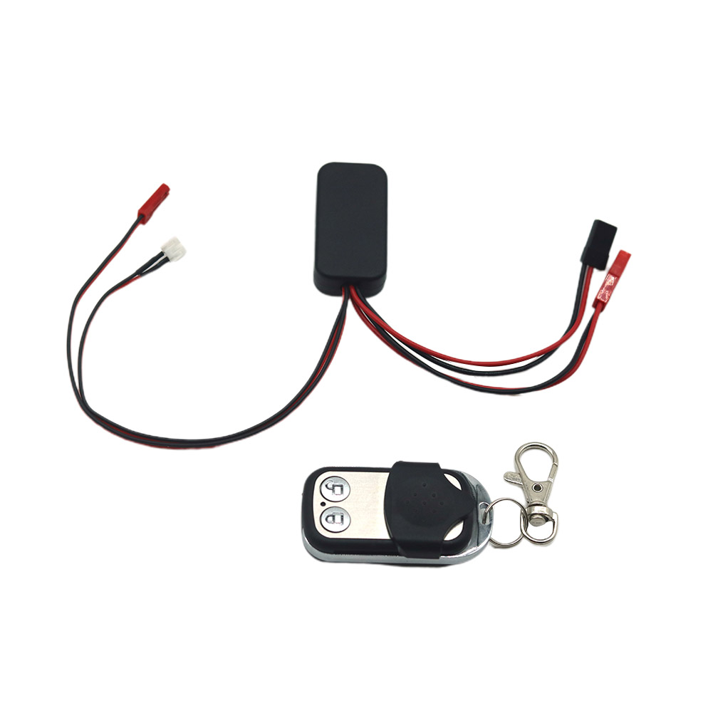 Wireless Winch Controller For RC Car Crawler Part Remote Control Car Accessories JST+ DuPont plug