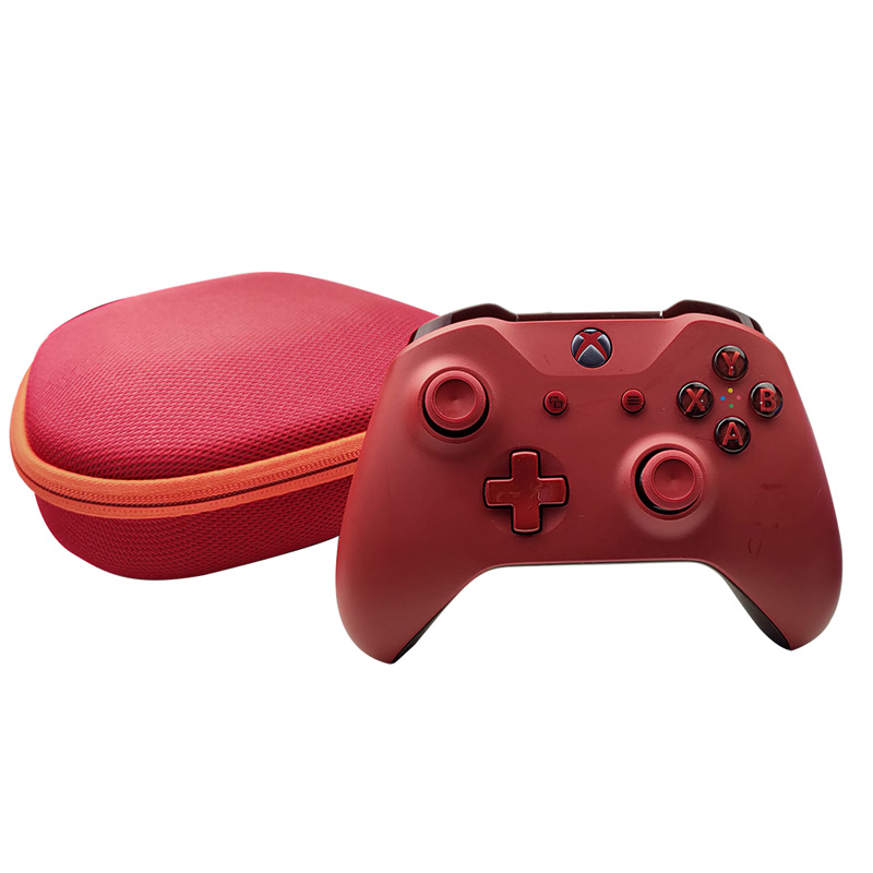 EVA Gamepad Box Console Carrying Case Protective Cover for XBOX ONE/Slim/X Nintend Switch PRO Controller Storage Travel Bag red