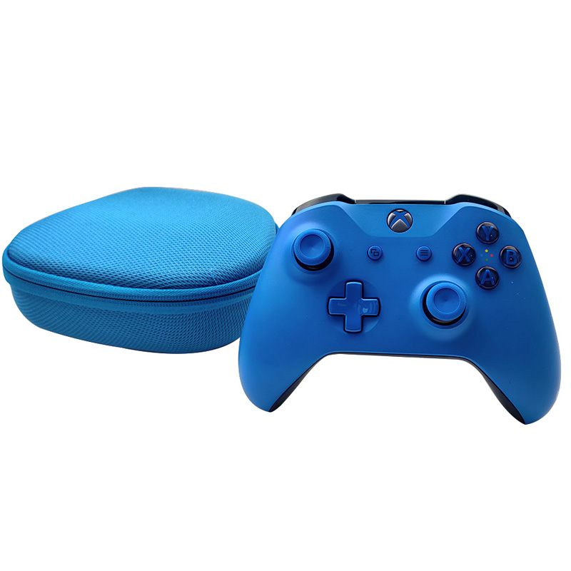 EVA Gamepad Box Console Carrying Case Protective Cover for XBOX ONE/Slim/X Nintend Switch PRO Controller Storage Travel Bag blue