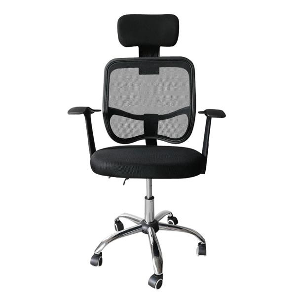 [US Direct] Office  Chair Computer Chair Home Office Desk Chair With Wheels Headrest black