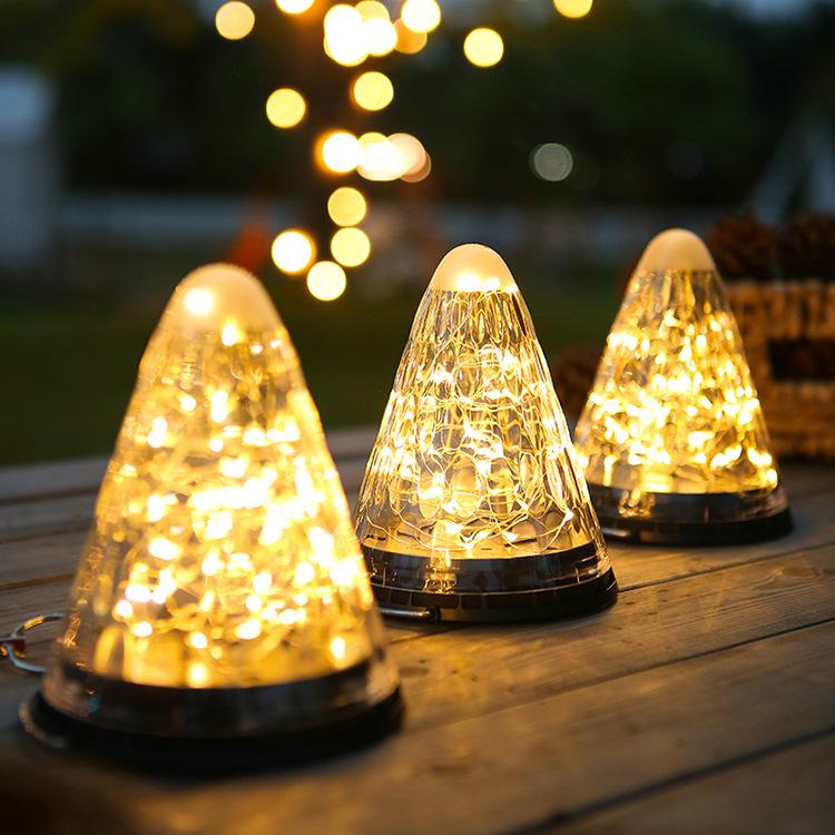 LED Solar Light Outdoor Waterproof Christmas Garden Decoration Hanging Lamp