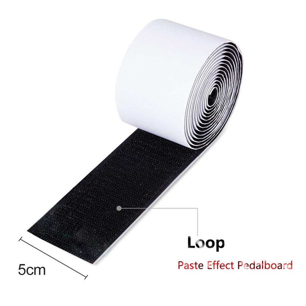 Mounting Tape Guitar Part Power-Grip Pedalboard Electric Guitar Effector Effect Pedal Mounting Tape Hook + Loop Loop