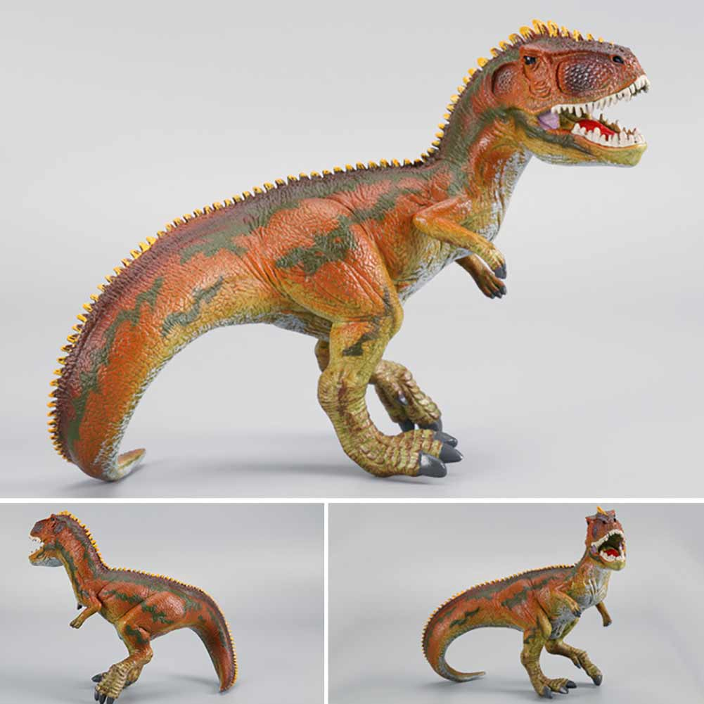 Small Size Solid Therizinosaurus Model Toy Dinosaur Plastic Action Figure Realistic Dinossauro Toys Gift