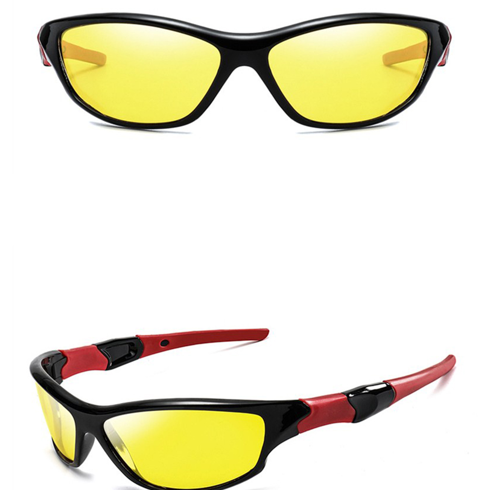 Outdoor Men Sports Sunglasses Polarized High Strength Glasses
