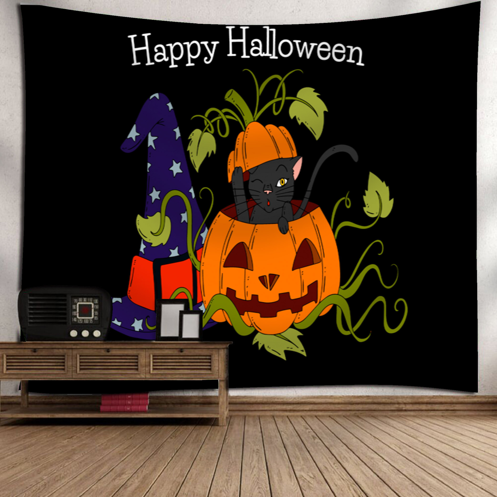 Fashion Halloween Hanging Home Tapestry Wall Decoration 8_150*130