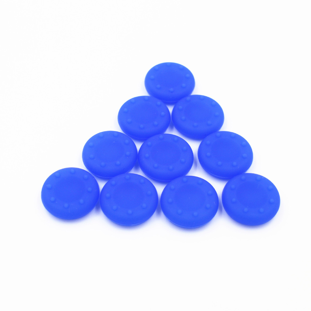 For XBOXONE/360/PS4/3 Controller Thumb Grips Cover Rubber Pads  blue