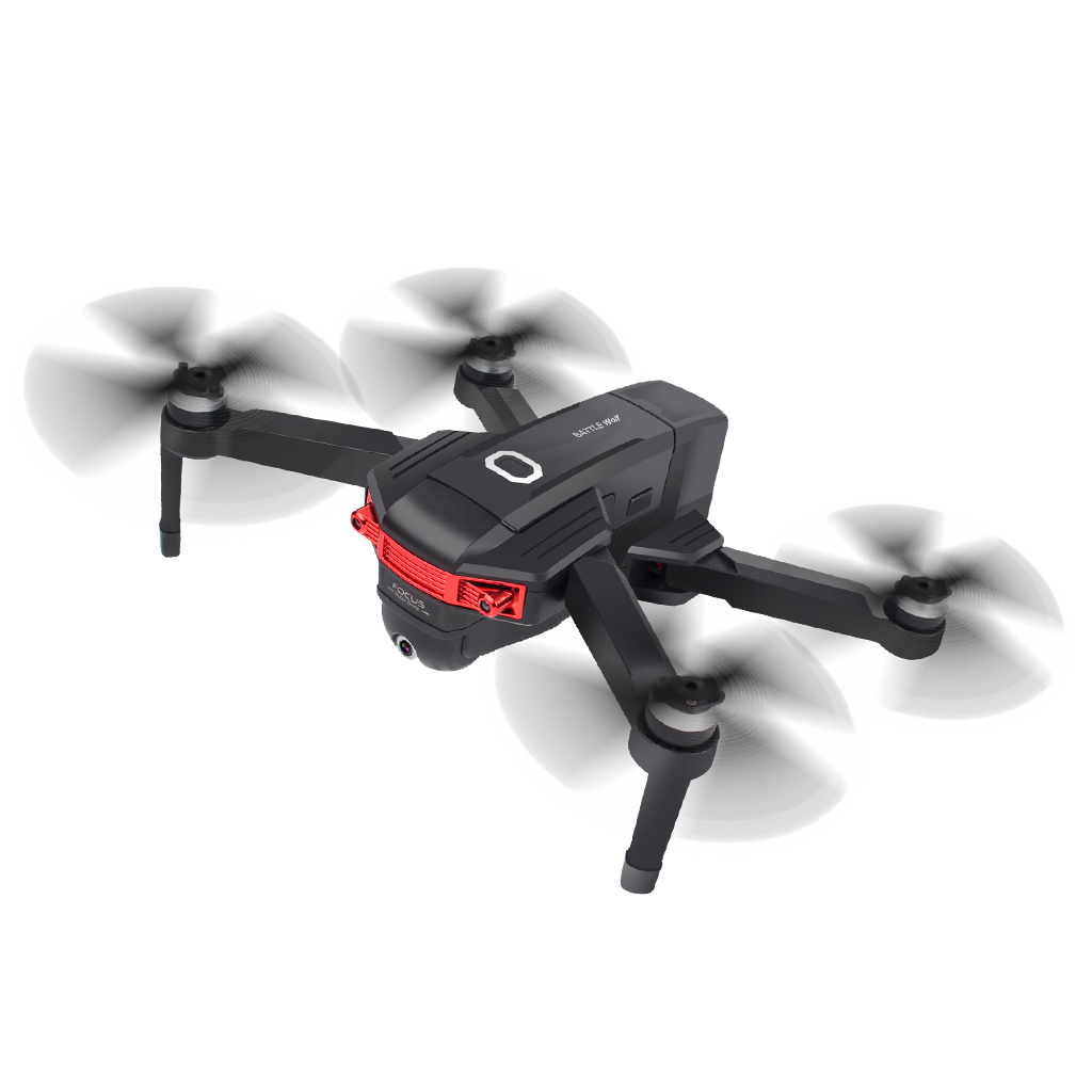 X46G Portable GPS 5G WiFi FPV with 4K Dual Cameras Brushless RC Drone Three battery configuration