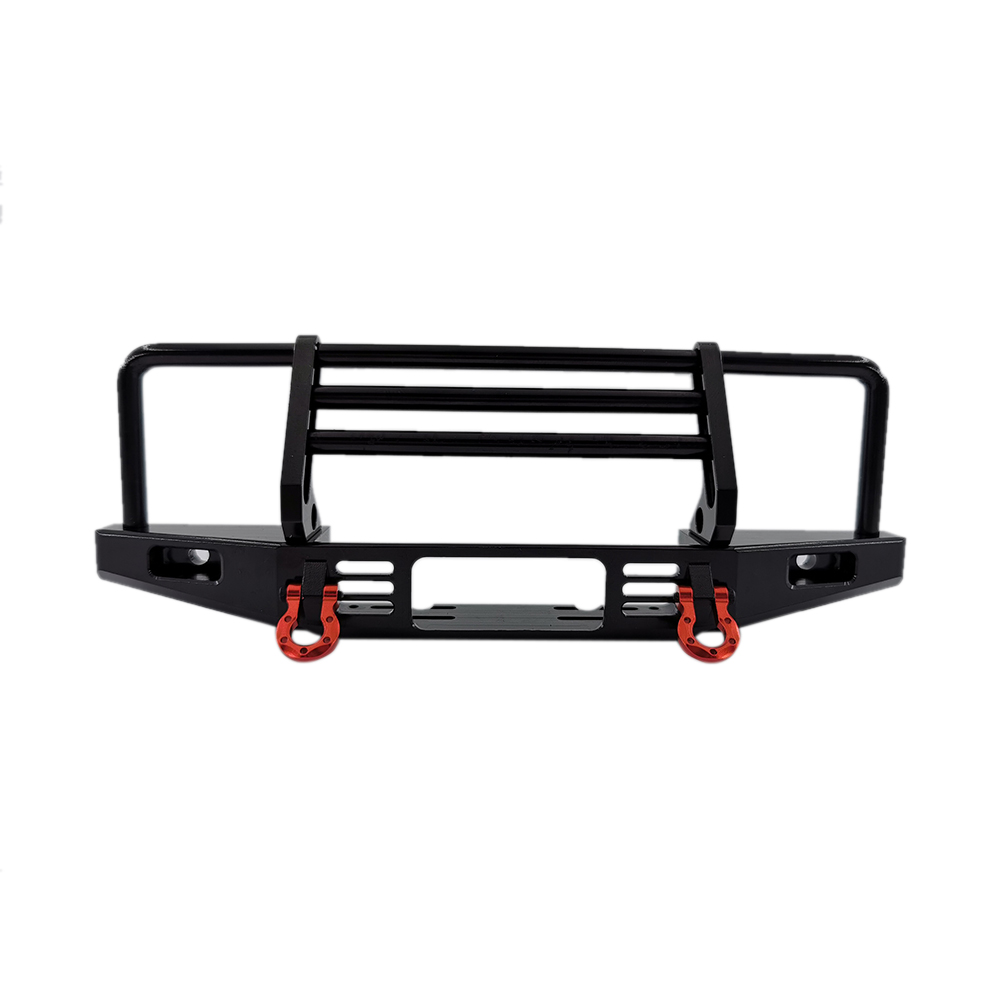 TRX4 SCX10 Metal Bumper Mounting Hole 40-43.5MM black