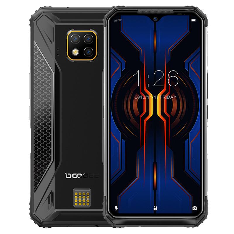 DOOGEE S95 Pro Mobile Phone 8+128GB Black_RU