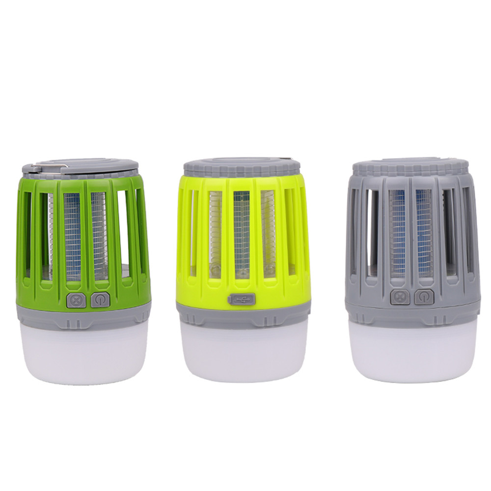 Portable USB Rechargeable LED Mosquito Killer yellow