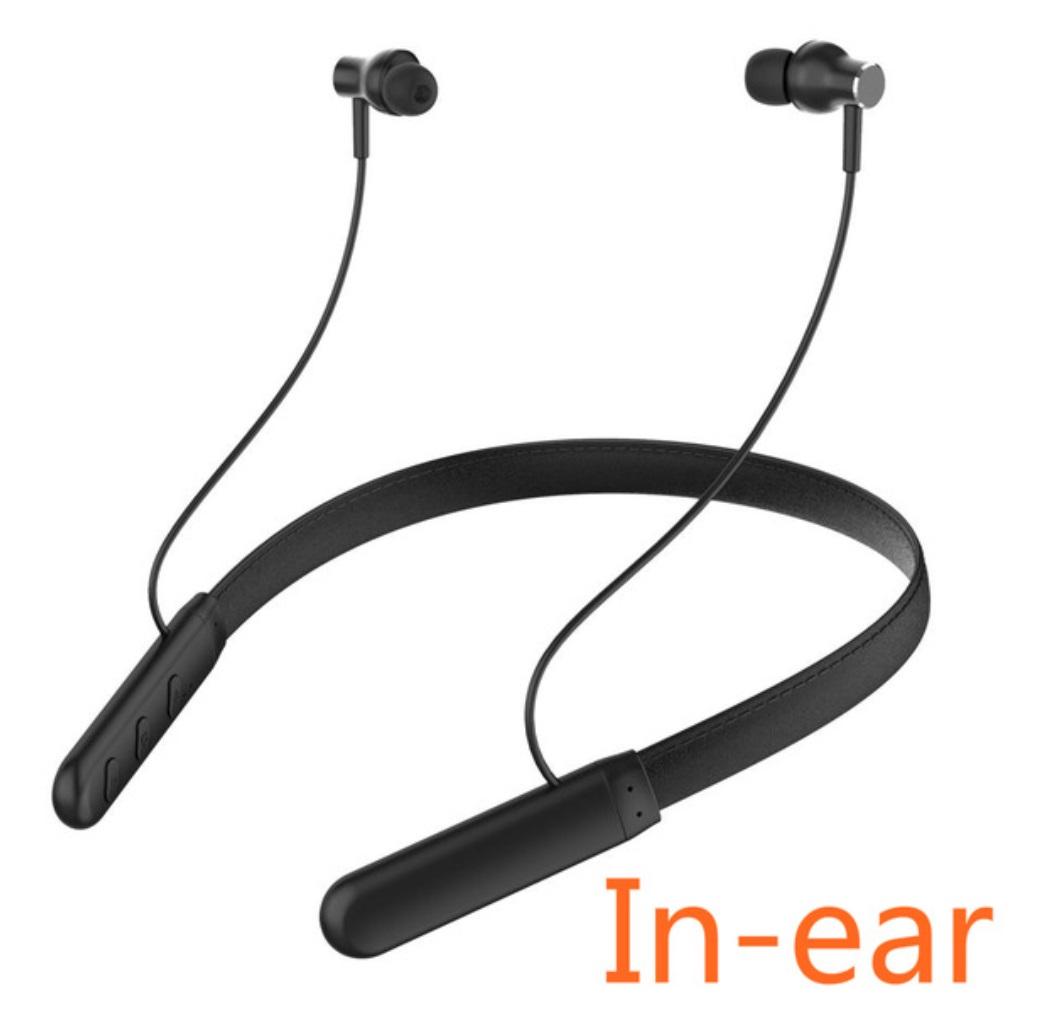Magnetic Wireless Bluetooth Earphone Music Headset Neckband Sport Earbuds Earphone With Mic Anti-sweat Waterproof G6 black