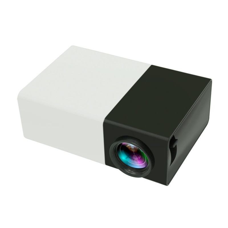 YG300 Mini LCD LED Projector 400-600LM 1080P Video Home Projector
