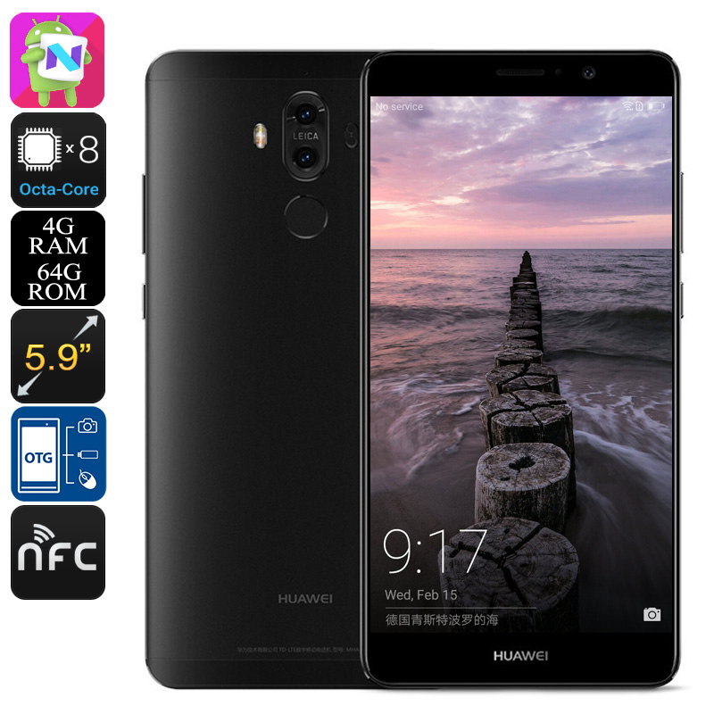 Huawei Mate 9 Smartphone 64GB (Black)