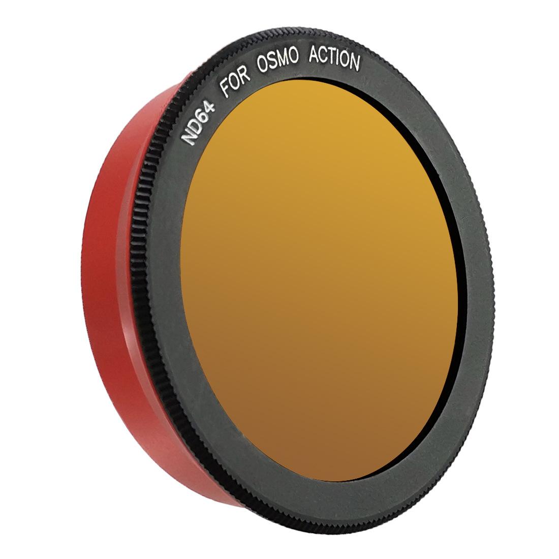 Camera Lens Filter for DJI Osmo Action Cameras UV CPL Lens High Light Transmittance Low Reflectance ND64 lens filter