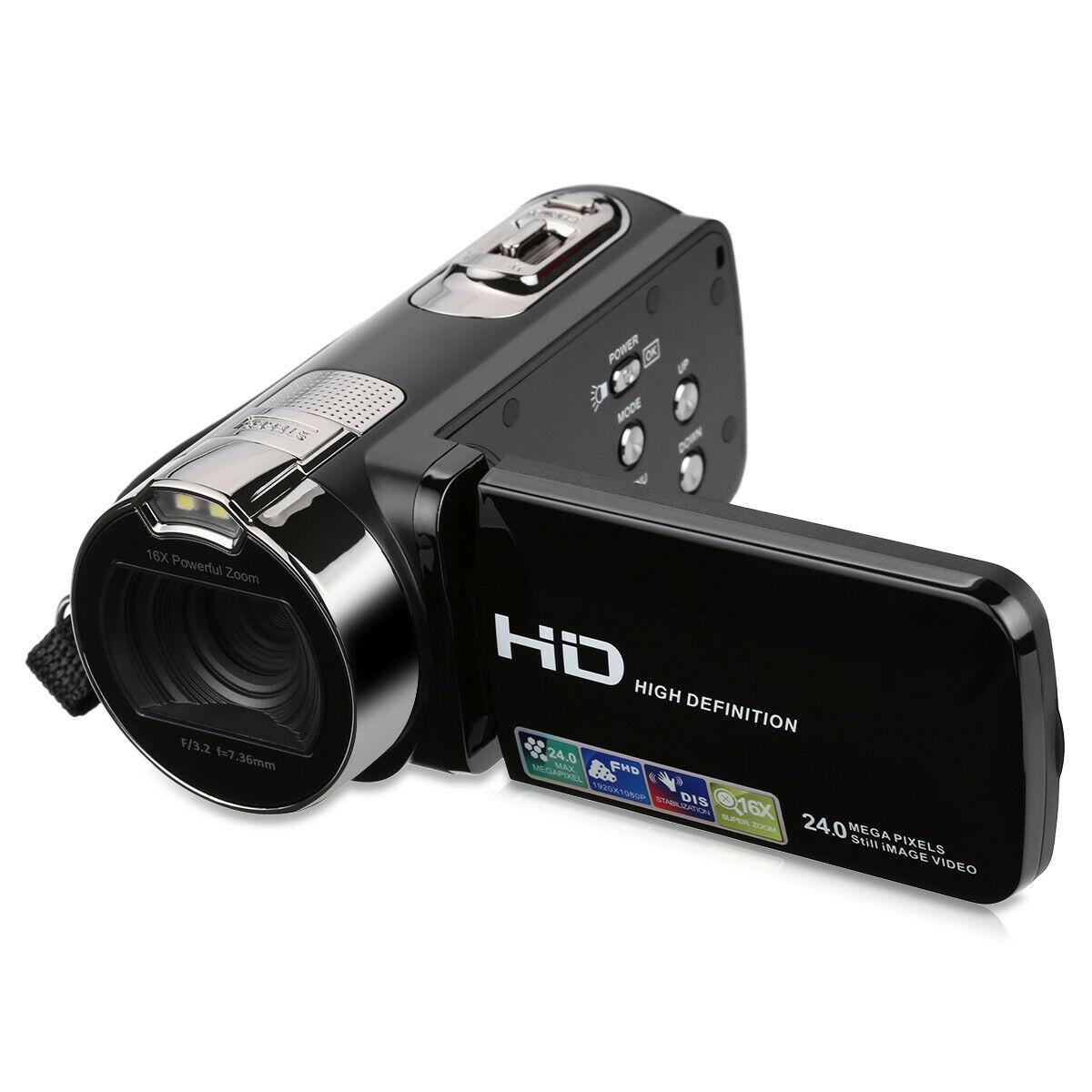 FHD 1080P 24MP 2.7