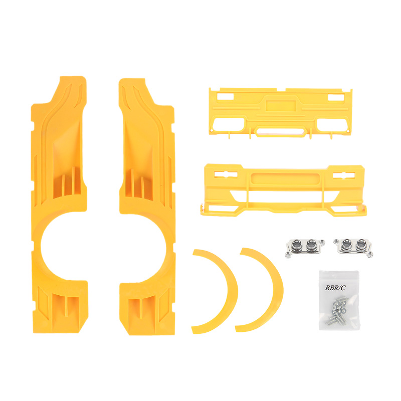 Wpl D12 Refit Upgrade &high Railing Accessories For Drift Rc Car R487 Diy Upgrade Model Spare Parts r487y d12 yellow Wide Surround