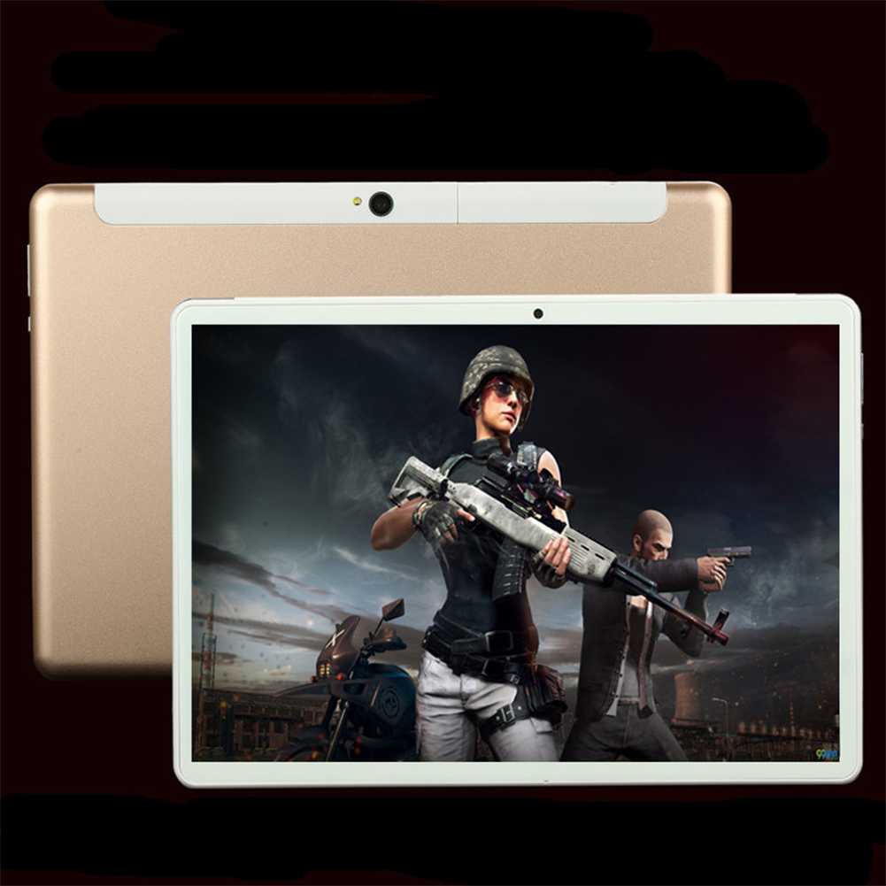 10 Inch Tablet Computer Ten Core High Definition GPS Navigation 4G Dual Card Full Netcom WIFI Golden eight core 4G full Netcom_US Plug