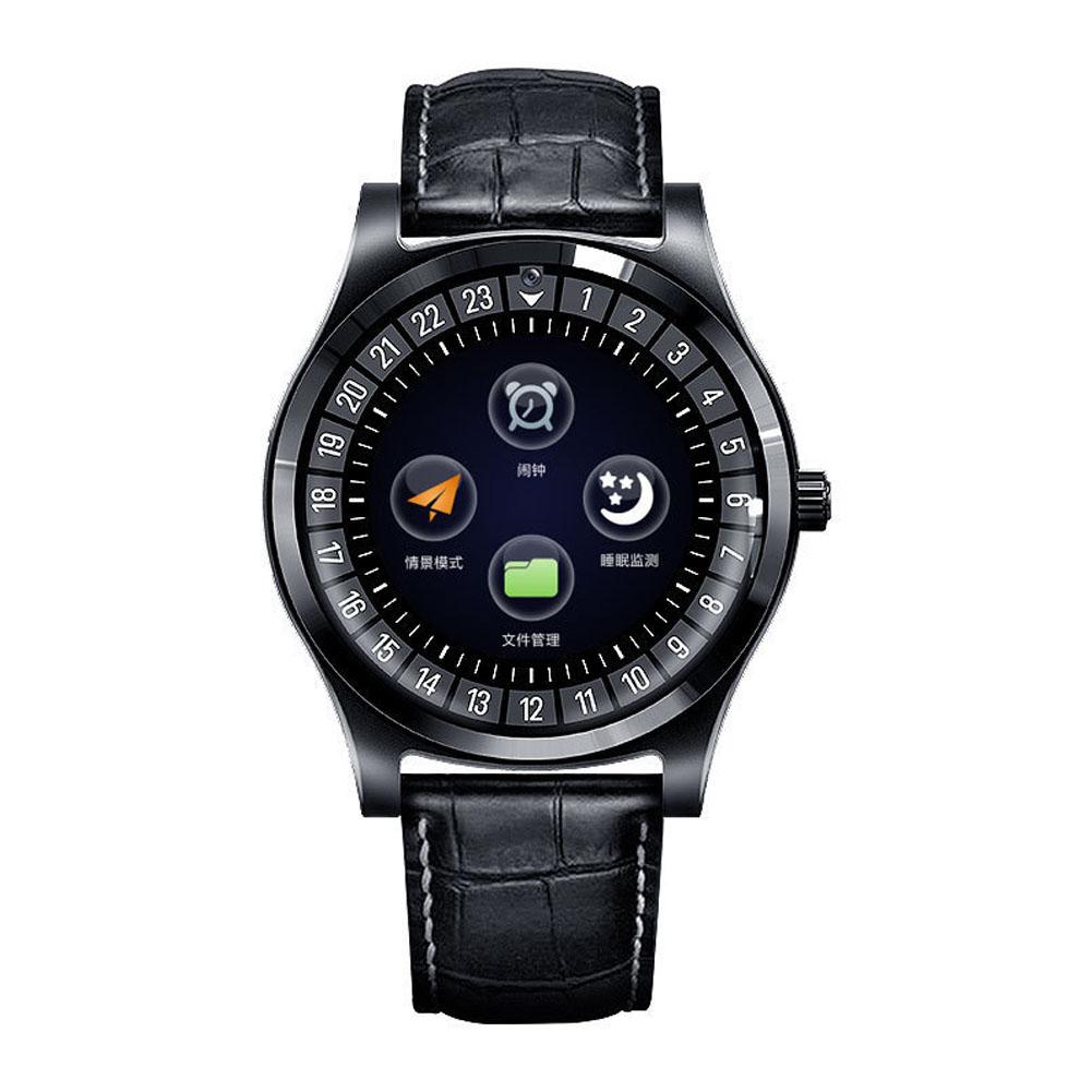 Smart Watch Fitness Tracker Men Women Wearable Devices Smart Band Heart Rate Monitor ECG Detection Smart Bracelet black