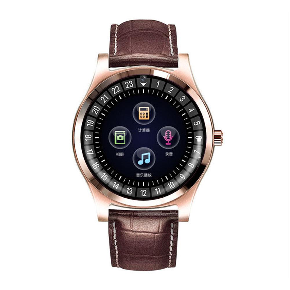 Smart Watch Fitness Tracker Men Women Wearable Devices Smart Band Heart Rate Monitor ECG Detection Smart Bracelet Golden