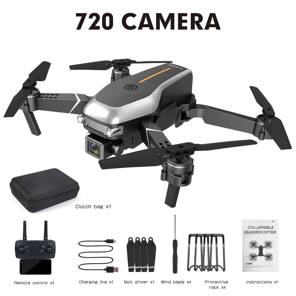 Hj95  Mini  Folding  Drone Fpv Four-axis Drone Wifi Real-time Transmission High-definition Aerial Drone With 2 million wifi camera