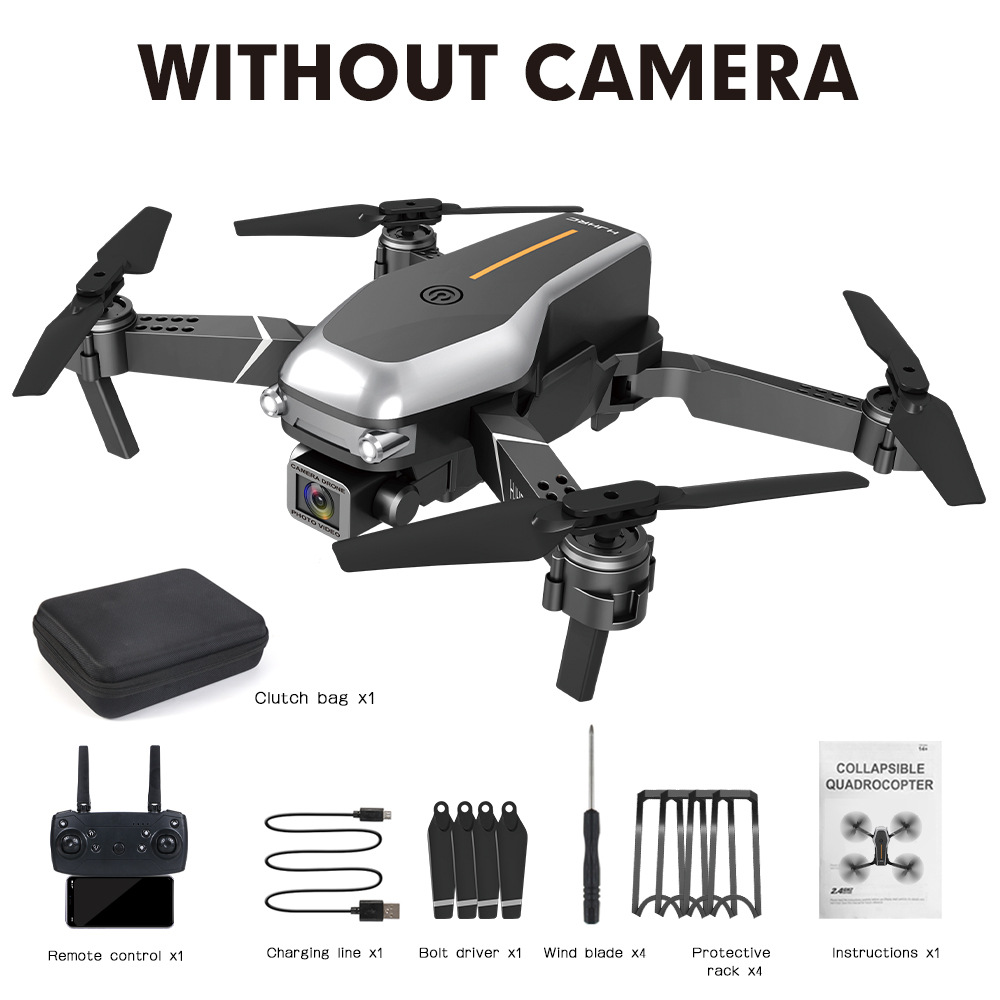 Hj95  Mini  Folding  Drone Fpv Four-axis Drone Wifi Real-time Transmission High-definition Aerial Drone Without camera