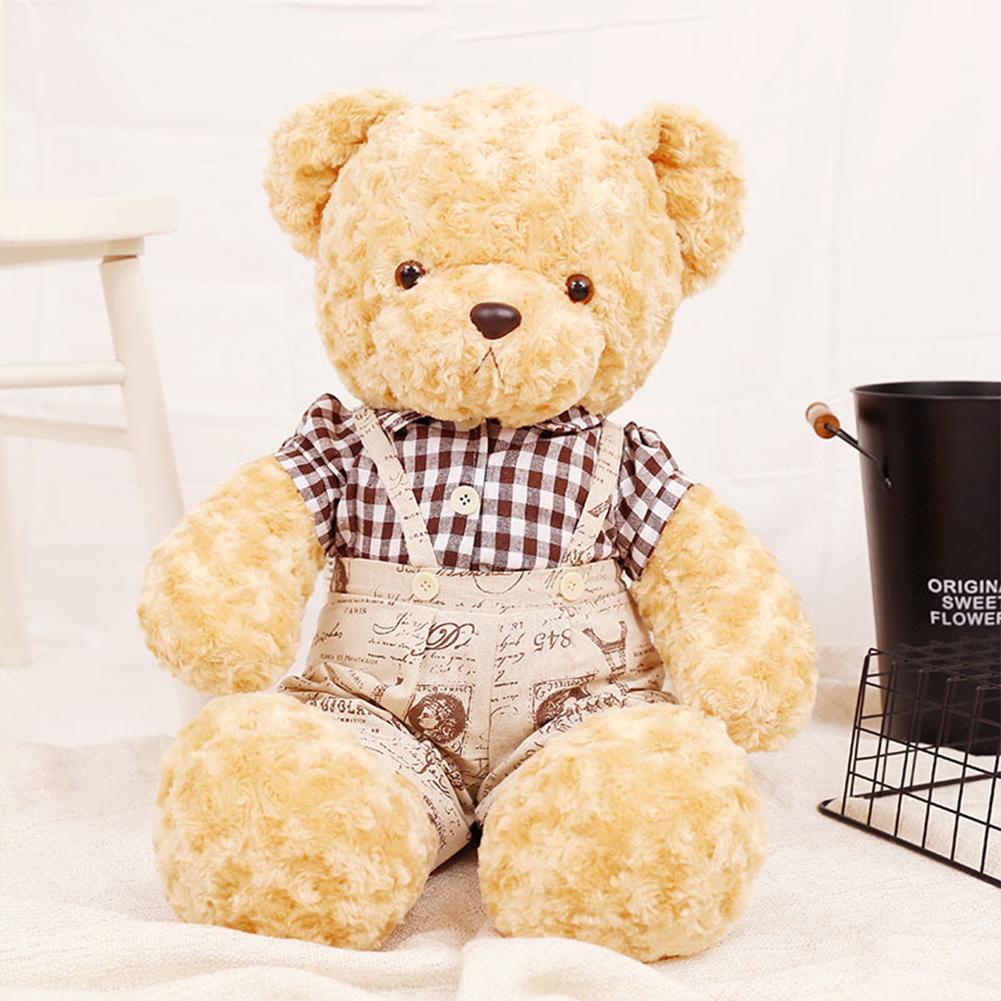 60/100cm Plush Doll Cute Teddy Bear Stuffed Animals Plush Doll For Birthday Gift a