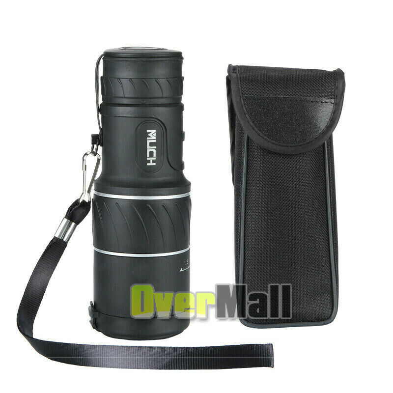40x60 Hd Monocular Telescope Night Vision Monocular Portable High Power Telescope black