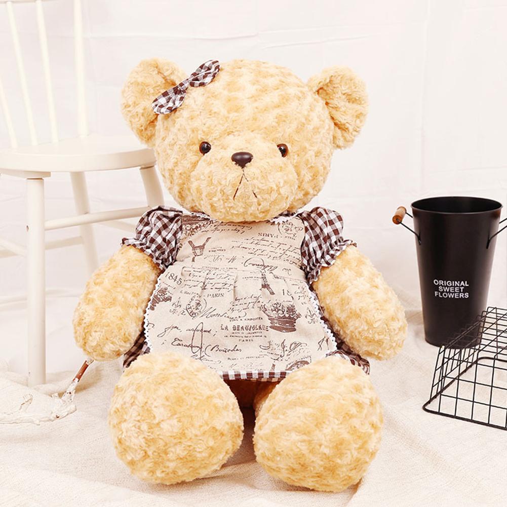 60/100cm Plush Doll Cute Teddy Bear Stuffed Animals Plush Doll For Birthday Gift b