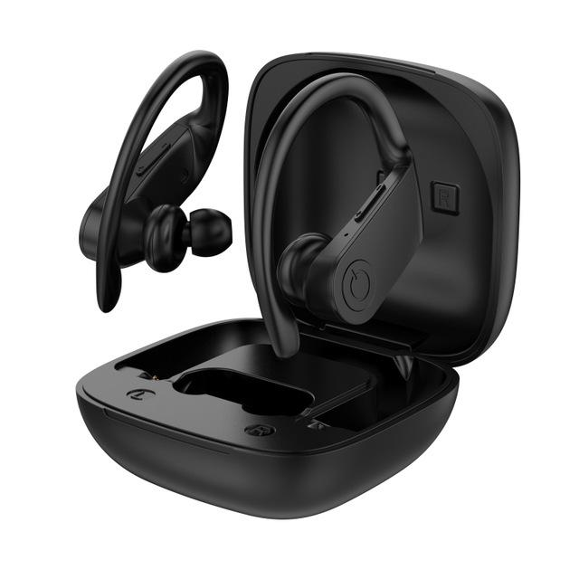 B11 TWS Earphone Bluetooth 5.0 Noise Reduction IPX5 Waterproof Gaming Sports Headphone black
