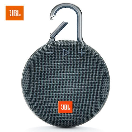 Original JBL Clip 3 Portable Bluetooth Speaker Mini Waterproof Wireless Outdoor Sport Colorful   blue