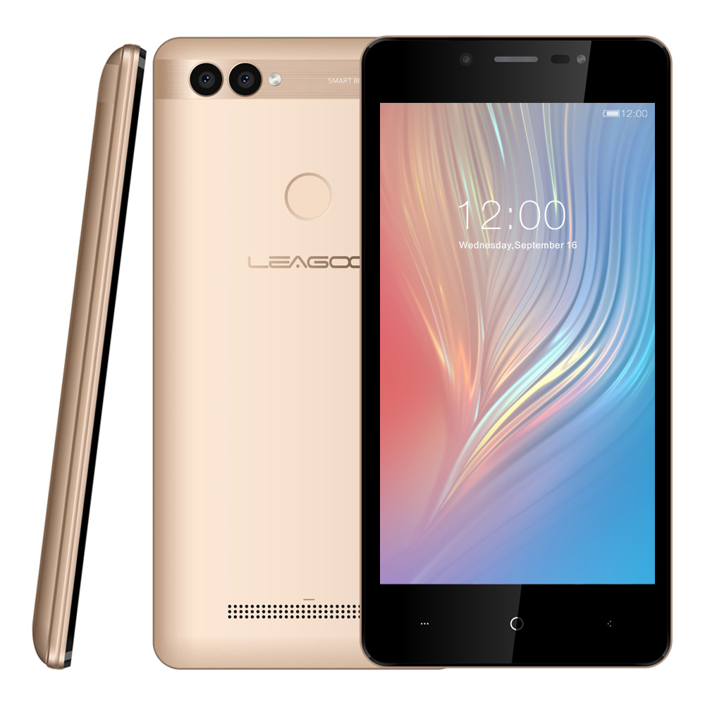 Gold LEAGOO POWER 2 Mobile Phone