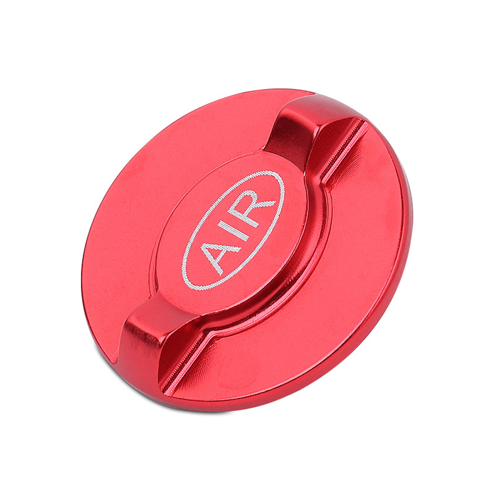 Mtb Suspension Air Valve Caps Bike Suspension Fork Bicycle Front Fork Aluminium Alloy Cover red_Special size