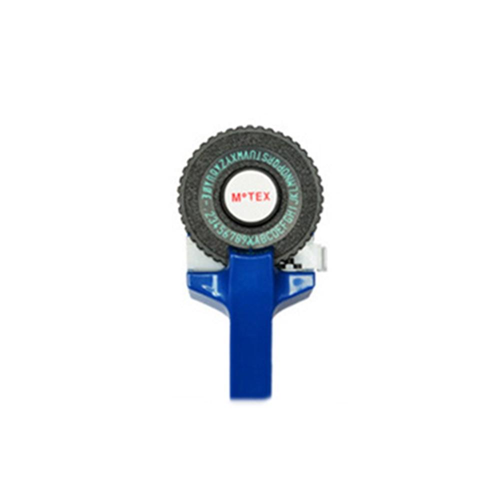 E-101 Label Maker 2 Letter Plate+1 Tape Dark blue