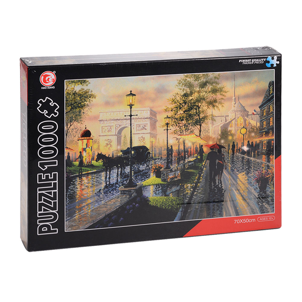 [US Direct] 1000-piece puzzle (road on rainy days)