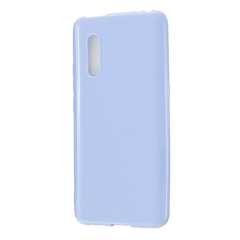For VIVO X27 / VIVO X27 Pro Cellphone Cover Anti-scratch Dust-proof Soft TPU Phone Protective Case  Taro purple